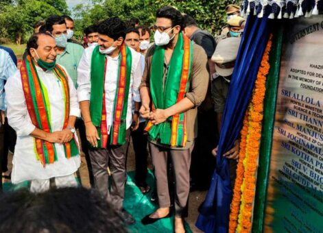 Actor Prabhas adopts 1,650 acres of reserve forest land on Hyderabad's outskirts