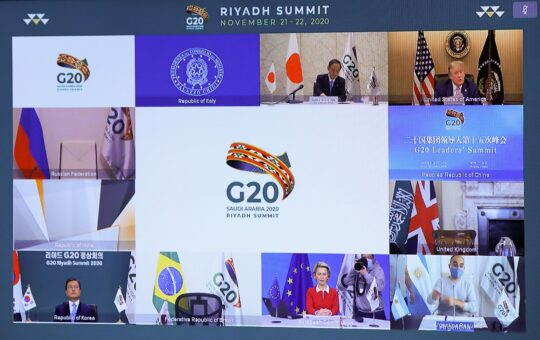 G20 Leaders Pledge to Fund Fair Distribution of COVID-19 Vaccines