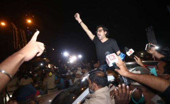 Arnab Goswami Released From Jail, Interim Bail Granted by SC