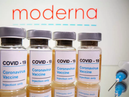 Two million doses of Moderna's COVID-19 vaccine in UK
