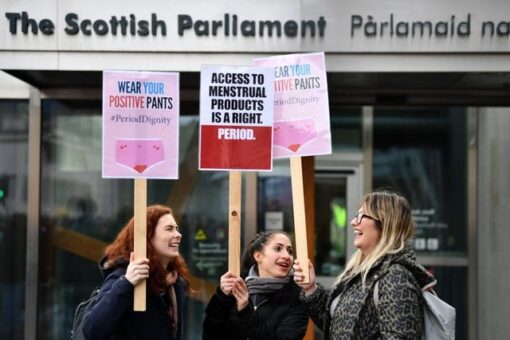 Scotland becomes the first country to make sanitary products free