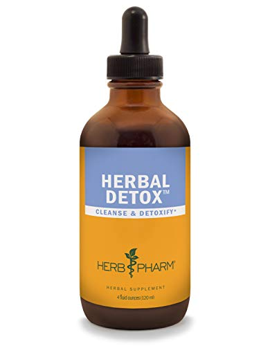 Herb Pharm Liquid Herbal Detox Formula for Cleansing and Detoxification – 4 Ounce