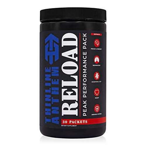 'Reload' – Multivitamin Pack (30 Servings)   Individual Vitamin Paks for Men & Women   Optimal Daily Health & Nutrition Supplement Packets   Pure Vitamins A, E, C, B Complex & More