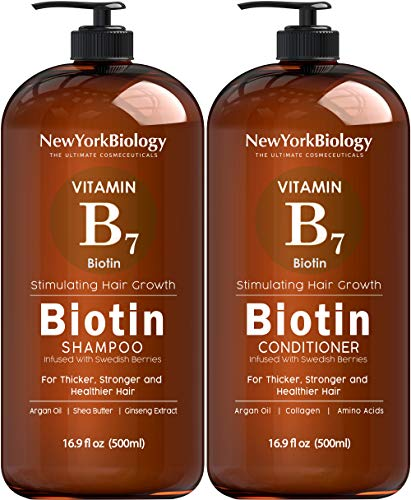 Roll over image to zoom in Biotin Shampoo for Hair Growth – Thickening Shampoo for Hair Loss All Natural for Thinning Hair – Rosemary Aloe Vera Coconut – for Women Men – Sulfate Free Paraben Free – Safe for Color Treated Hair