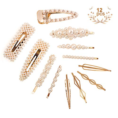 cineen-12-pcs-pearl-hair-clips-for-women-girls-fashion-hair-accessories-bling Home page Rewise