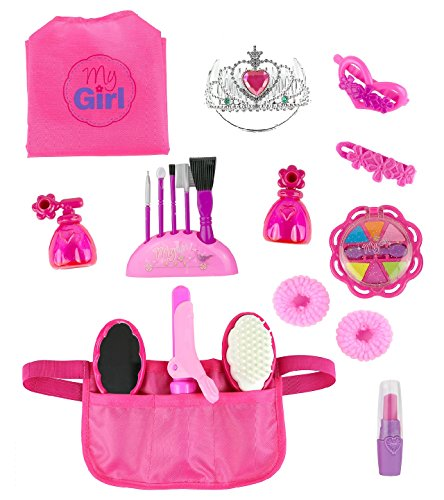 Click n' Play Doll Hair and Beauty Dress Up Accessory set, Perfect For 18 inch American Girl Dolls
