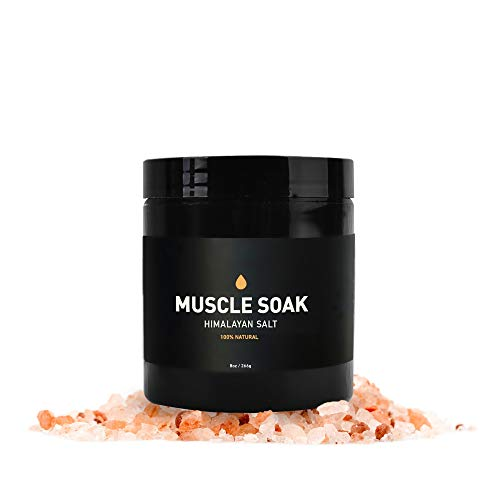 Muscle Soak Himalayan Salt, 100% Natural Essential Oil-Based Relaxing and Soothing Muscle Bath Salt Scrub for Men and Women (Black Pepper and Patchouli Essential Oils, Cedarwood Base Oil)– Way of Will