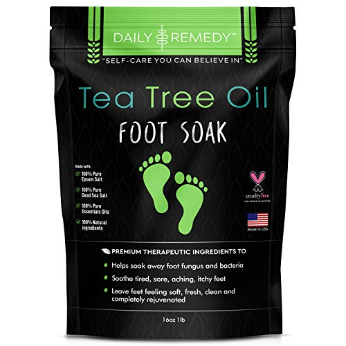 Tea Tree Oil Body & Foot Wash | 100% Natural & Pure | Eliminates Athletes Foot, Itchy Scalp, Eczema & Body Odour| Antifungal Body Wash | Soothes Itching & Promotes Healthy Feet, Skin, and Nails