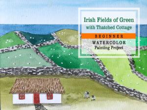 Paint Ireland St. Patrick's Day Art Project