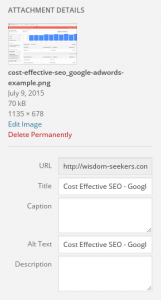 Cost Effective SEO - Image SEO