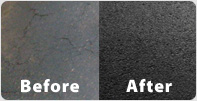 Before and After Crack Repair