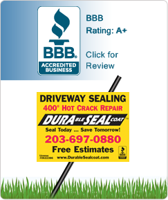 BBB and Driveway Lawn Sign