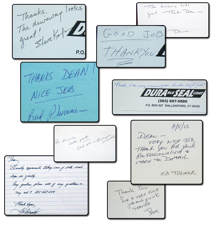 Driveway Sealing Testimonials 10