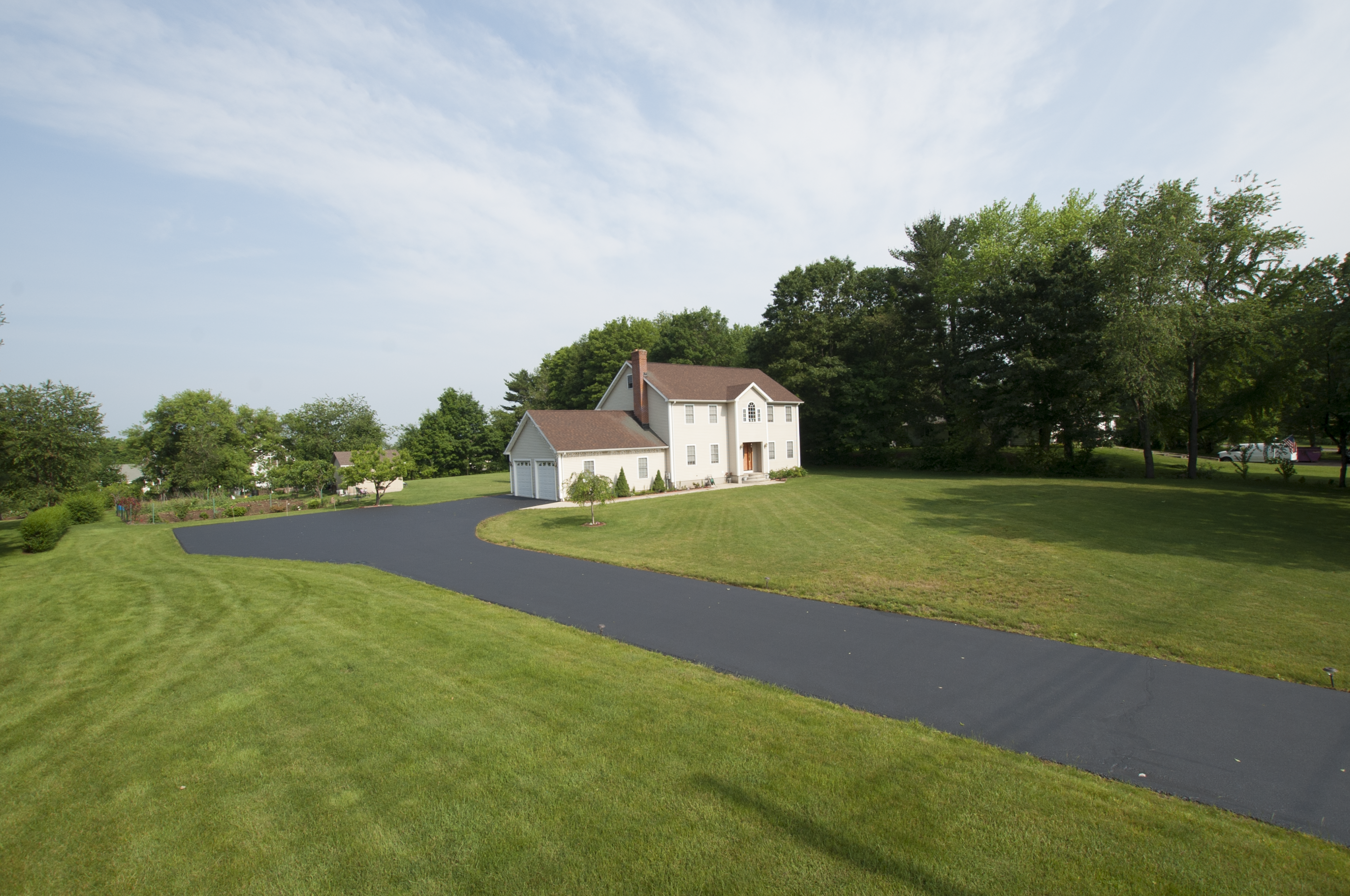 Large Colonial with Driveway Sealed