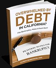 Overwhelmed By Debt In California?