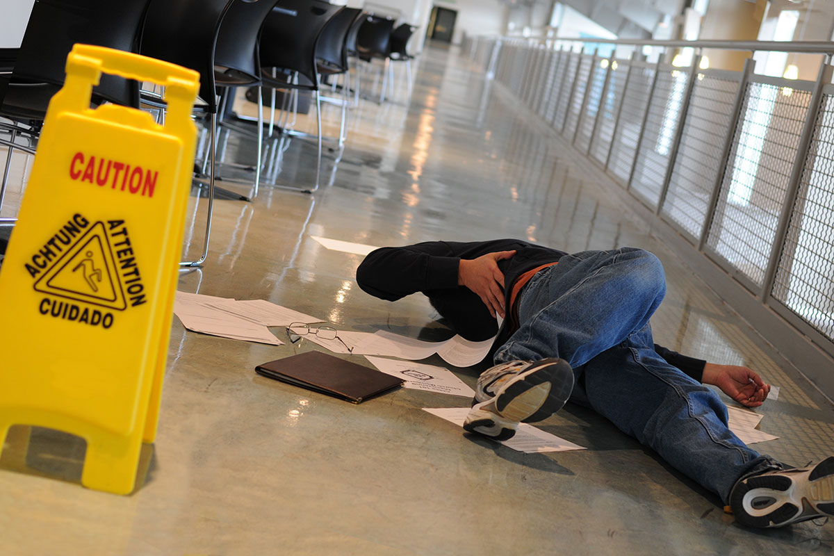 Slip-and-Fall Accidents and Premises Liability