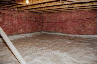 Insulated Crawlspace