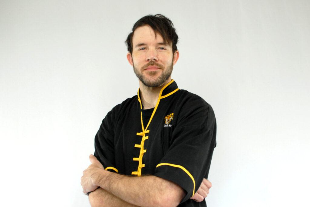 Black Sash Instructor Matt at Shadow Fist Kung Fu and Tai Chi