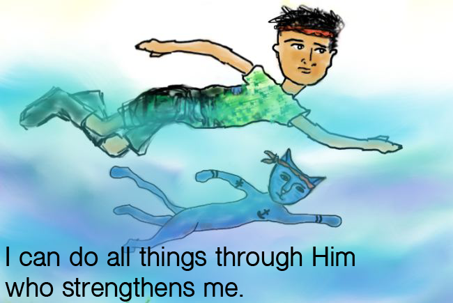 I can do all things through Him!