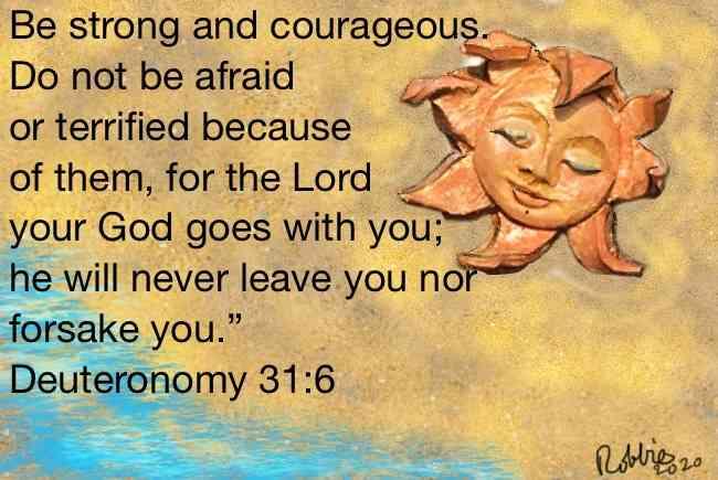 Don't be afraid.