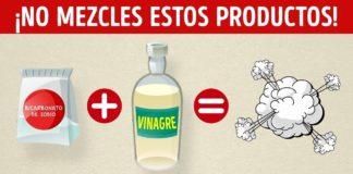 7 Productos de limpieza que nunca debes mezclar