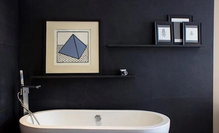 Arte en el baño