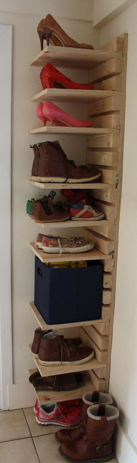 Repisa para los zapatos