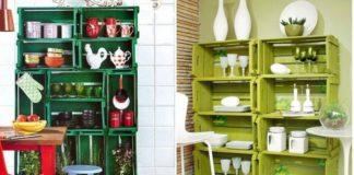 16 ideas para decorar tu casa con cajas de madera