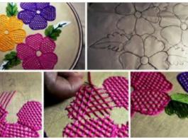 Aprende a tejer chal a mano