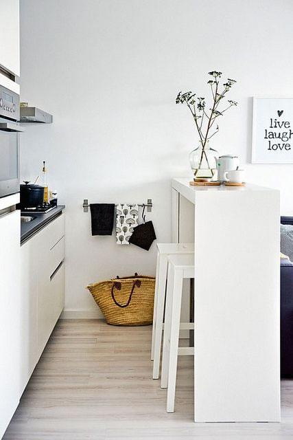 Cocinas muy bonitas pequeñas