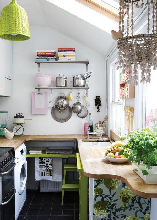 Cocinas muy bonitas y muy ordenadas y tradicionales