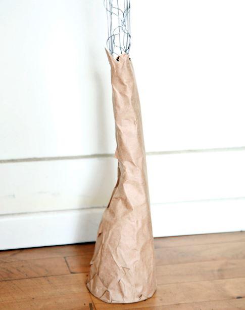 Como hacer una flor gigante de papel paso 5