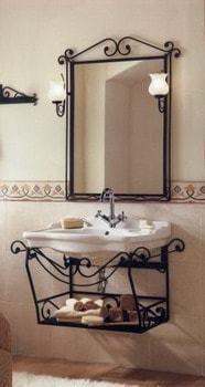 Hierro para sostener espejos