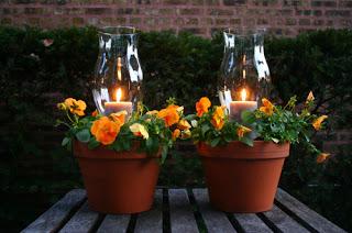 lamparas de jardín originales