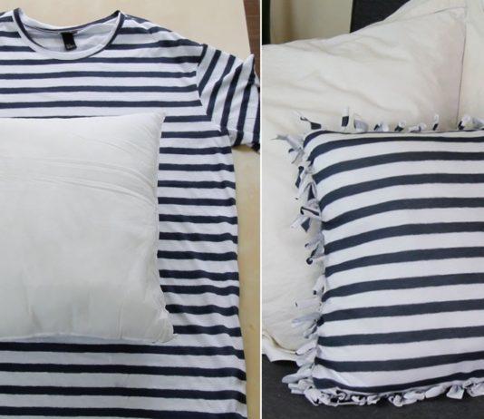 9 ideas sencillas para reutilizar tus camisetas viejas que ya no usas