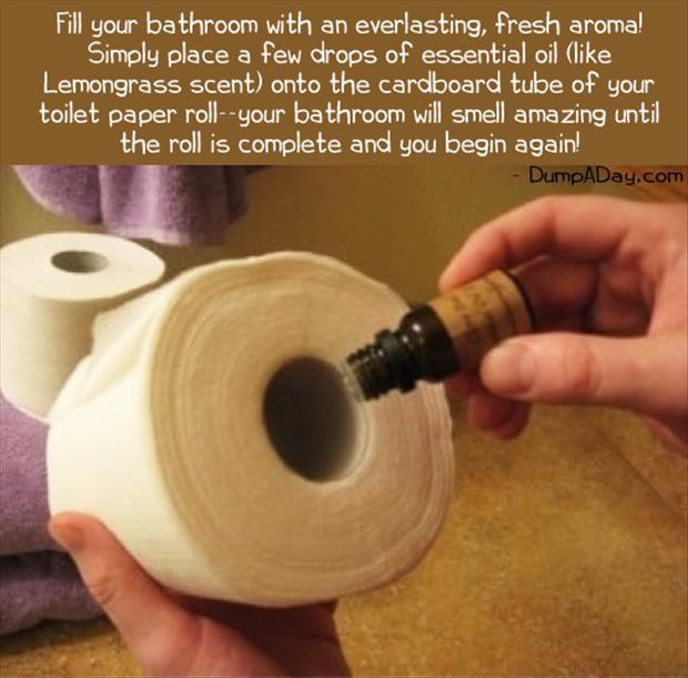 Aceite esencial para acabar con los malos olores del baño