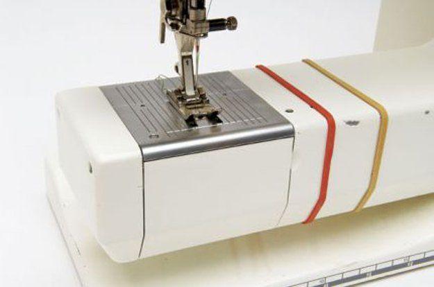 Bandas elásticas para un buen margen de costura