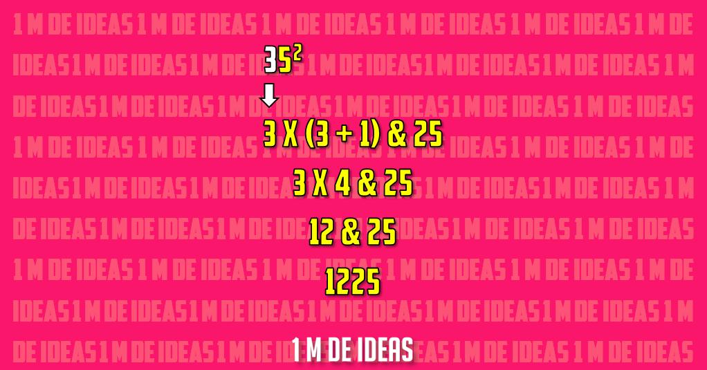 Calcula el cuadrado de un número