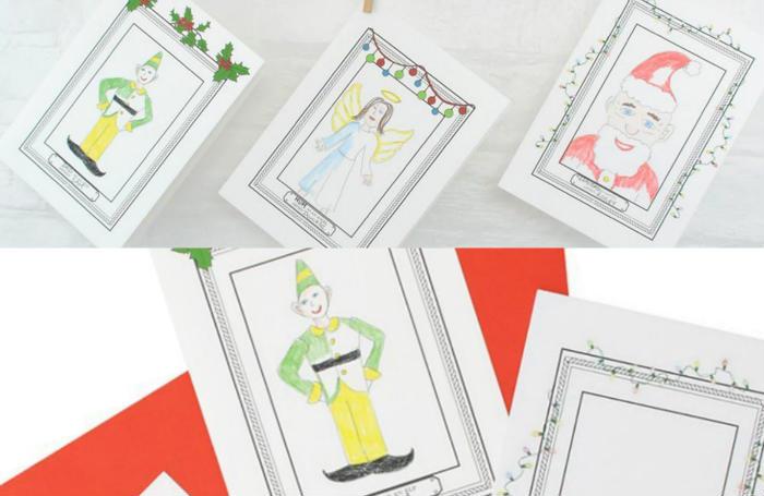 Dibujos de los pequeños de la casa en tus tarjetas