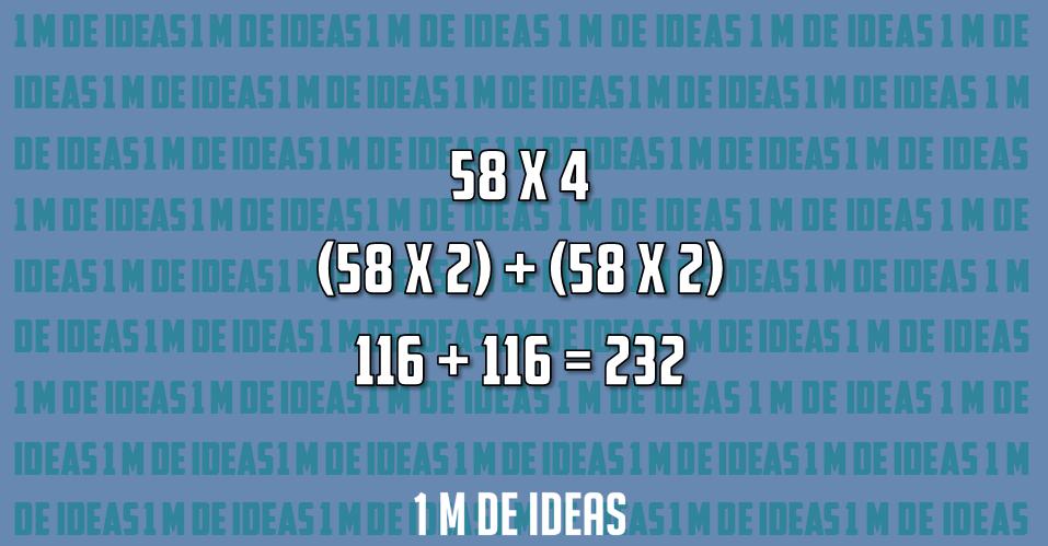 Multiplicar por 4
