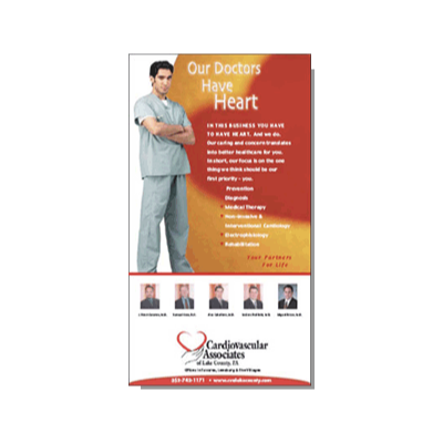 Ad for Cardiovascular Associates, located in Central Florida