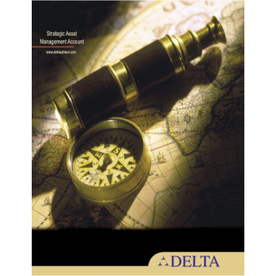 Design of Booklet for Delta Advisory Services, a financial advisory organization