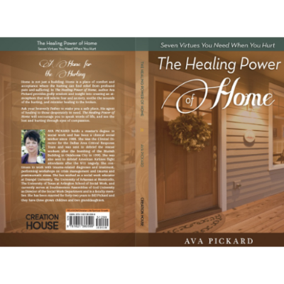 Book Cover Design for 'Healing Power of Home' - Published through Charisma Media