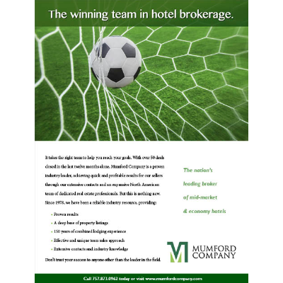 Ad designed and written for Mumford Company, a progressive real estate brokerage company.