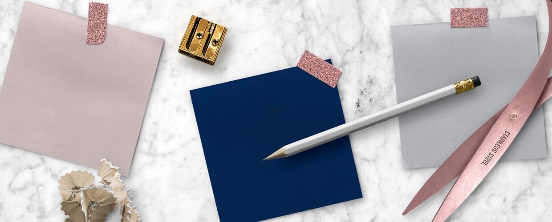 Blush Pink, Navy Blue, Misty Gray blog post hero image