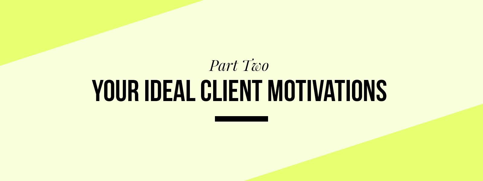 Ideal Client Profile Workbook Part 2
