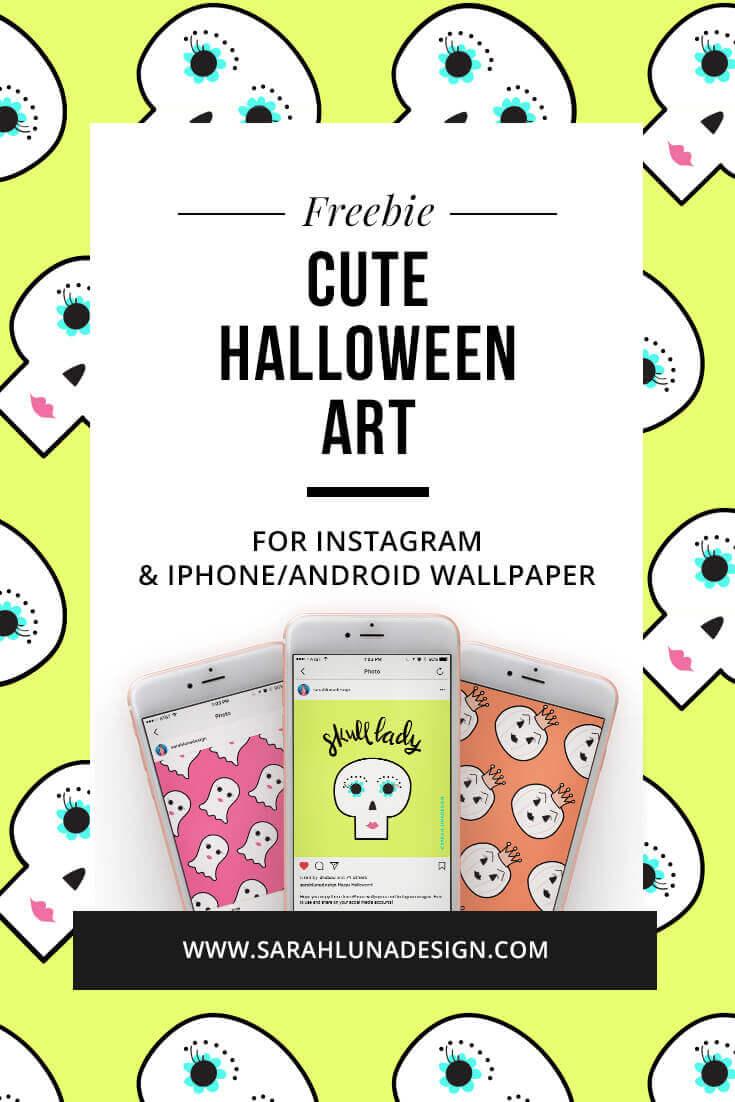 Free Halloween Images from Sarah Luna Design