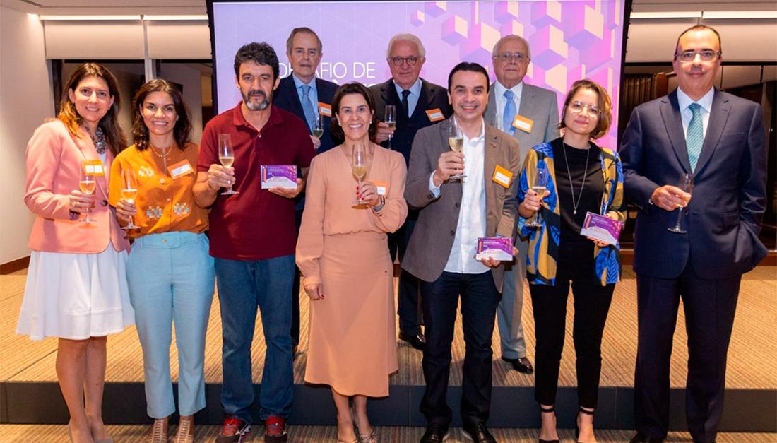 Award ceremony for the 2019 Desafio de Acesso à Justiça