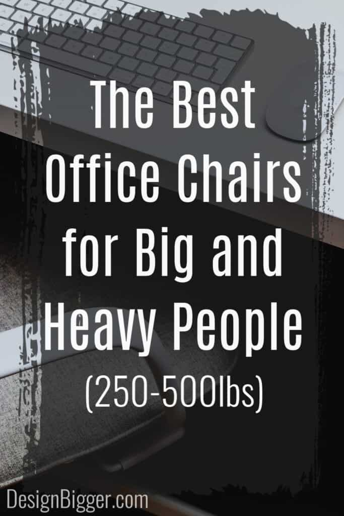 best office chairs for heavy people pin