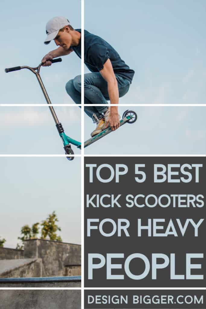 best kick scooter for heavy adults